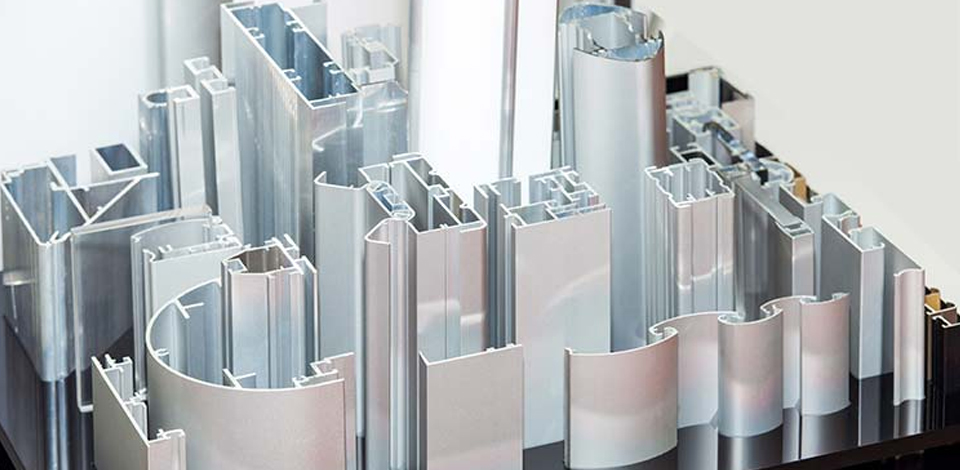 Custom made aluminium profiles