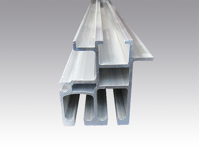 Anodized aluminium profiles for Curtainsider